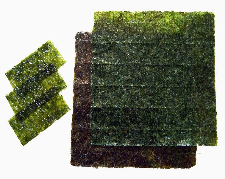 zdroj: http://cs.wikipedia.org/wiki/Nori, autor: Alice Wiegand
